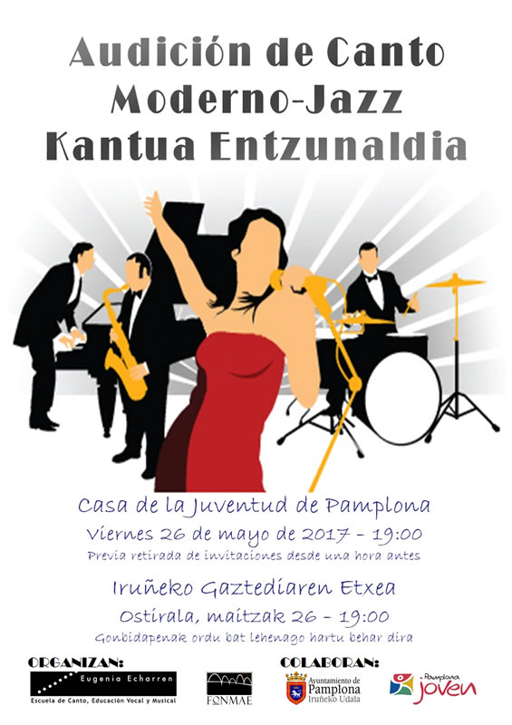 Cartel Moderno-Jazz