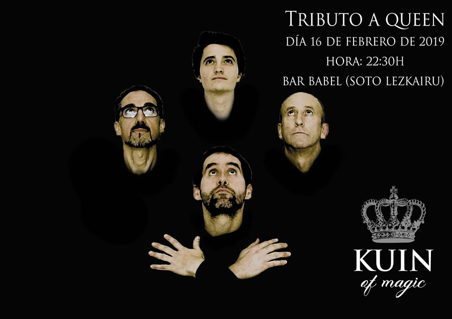 Kuin of magic - Tributo a Queen @ Babel Supperclub (Soto de Lezkairu) | Pamplona | Navarra | España